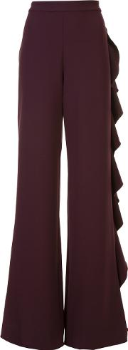 Karlina Pants Women Polyester S, Women's, Red