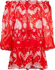 Can't Do Without You Mini Dress Women Silkpolyestercotton 12, Women's, Red