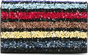 Alice Olivia Sequined Clutch Women Pvc One Size