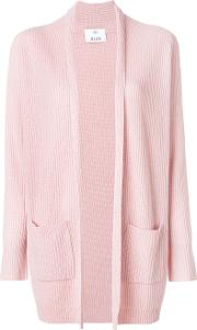 Allude Knitted Cardigan Women Cashmere M, Pinkpurple