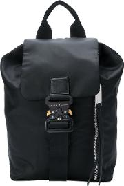 Buckle Backpack Women Cotton
