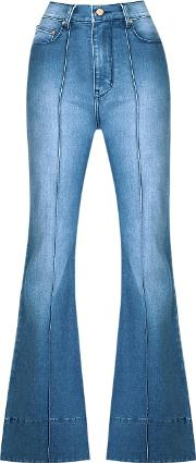 Amapo High Waist Flared Jeans