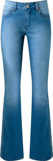 Flared Jeans Women Cottonelastodiene 42