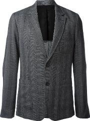 Ami Alexandre Mattiussi Half Lined Two Button Jacket Men Polyesterviscosewool 48, Grey
