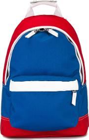 Backpack Men Leatherpolyester One Size, Blue