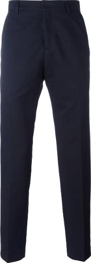 Tailored Trousers Men Cottonlinenflaxpolyester 50