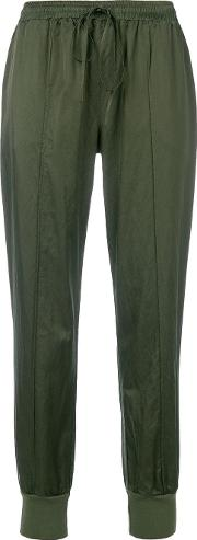Tapered Drawstring Trousers