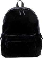 Classic Backpack Men Cottonleatherpolyesterviscose