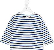 Striped Sweater Kids Cotton 10 Yrs, Blue