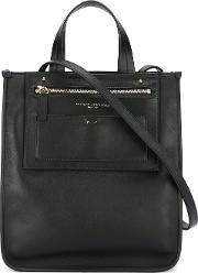 Square Tote Women Calf Leather One Size