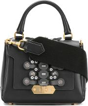 Anya Hindmarch Bathurst Satchel Women Calf Leather One Size, Black