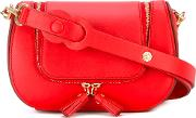 Circulus Vere Satchel Women Calf Leather One Size, Red