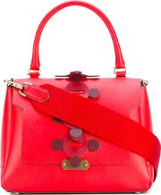 Small 'bathurst' Satchel Women Leather One Size, Red