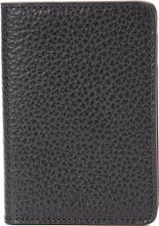 A.p.c. Bifold Vertical Wallet Men Cottonleatherpolyester One Size, Black