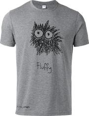'fluffy' Print T Shirt Men Cottonpolyester M