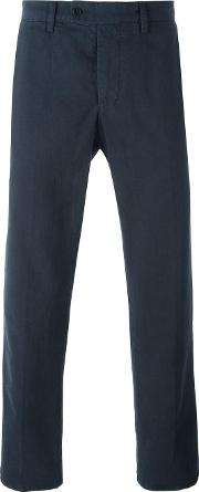 Japanese Selvage Chinos Men Cotton 54, Blue