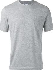 Plain T Shirt Men Cottonpolyester S, Grey