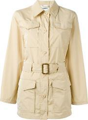 Single Breasted Trench Coat Women Polyester S