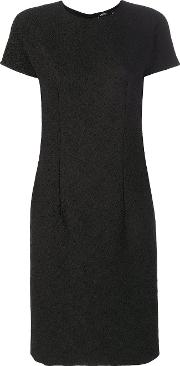 Textured Fitted Dress