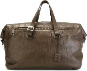 'didot' Holdall Unisex Calf Leather One Size, Brown