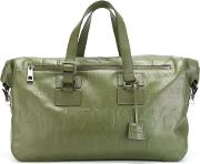 'didot' Holdall Unisex Calf Leather One Size, Green