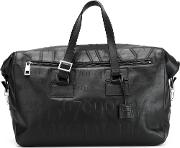 'didot' Holdall Unisex Cottoncalf Leather One Size, Black