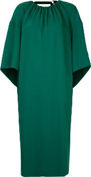 Astraet Flared Dress Jumpsuit Women Polyester 1, Green