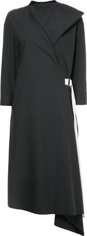 Belted Asymmetric Dress