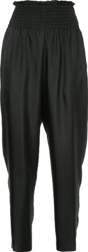 High Waist Fitted Trousers