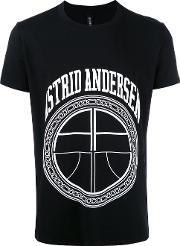 Astrid Andersen Essential Logo T Shirt Men Cottonspandexelastane S, Black