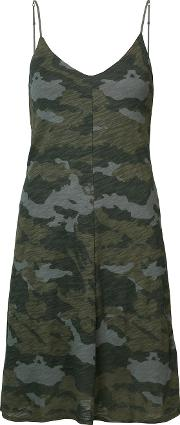 Camouflage Print Cami Dress