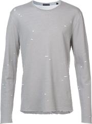 Speckled Print T Shirt