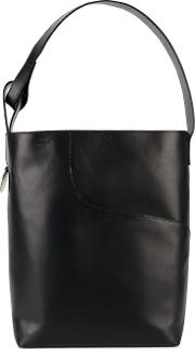 'pienza' Large Tote Bag Women Leather One Size, Women's, Black