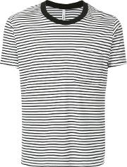 Striped Fitted T Shirt