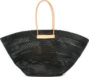Cable Mesh Hand Tote Bag