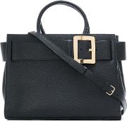 Belle Tote Bag Women Leather One Size, Black