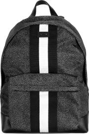 Hingis Backpack Men Leathernylon One Size, Black