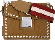 Small Grimoire Shoulder Bag Women Cottonleather One Size, Brown