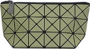 'lucent Frost' Clutch Women Polyesterpvc One Size, Green