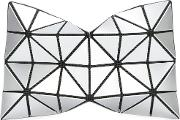 Triangles Make Up Bags Women Polyester One Size, Grey