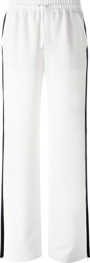 High Waisted Pants Women Polyester 42, White