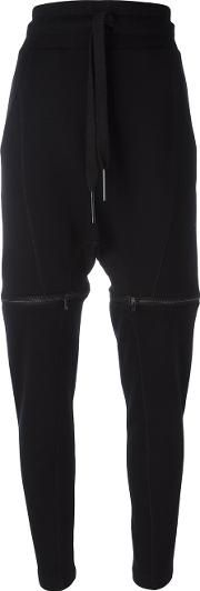 Drawstring Track Pants Women Cotton M, Women's, Black