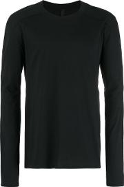 Longsleeved T Shirt Men Cotton 50, Black