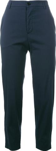Cropped Pants Women Cottonpolyamidespandexelastane 42