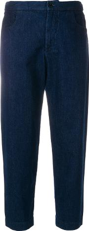 Cropped Tapred Jeans