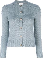 Barrie Twisted Tales Cardigan Women Cashmere L, Blue