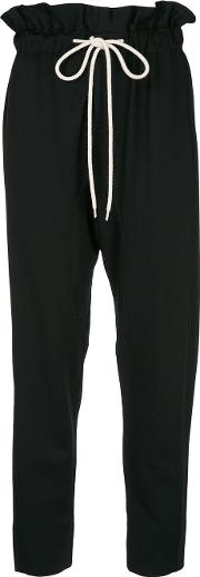 Paper Bag Relaxed Trousers