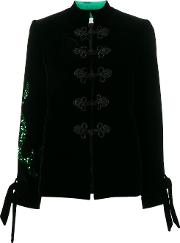 Button Frog Embroidered Jacket