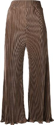 Thebe Pants Women Polyester S, Brown