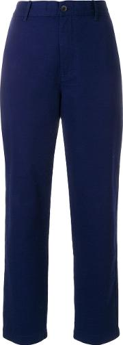 High Waisted Worker Trousers